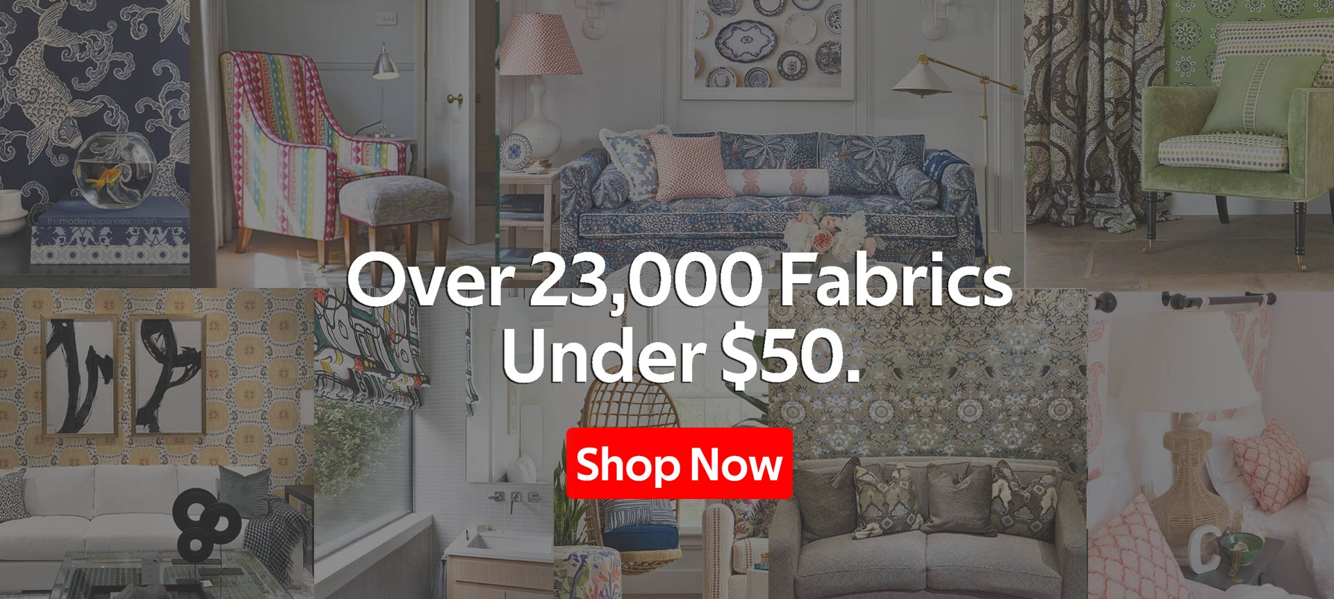 Thousands of Designer Fabrics Under 50 Dollars