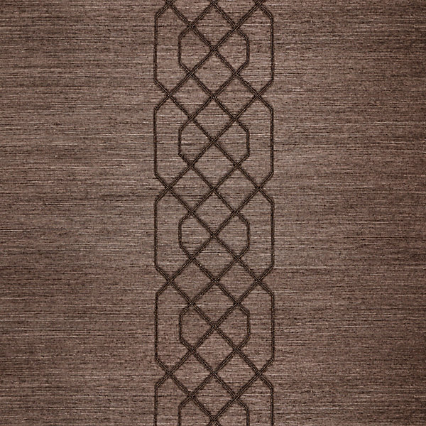 Adelaide Beaded Sisal - chocolate