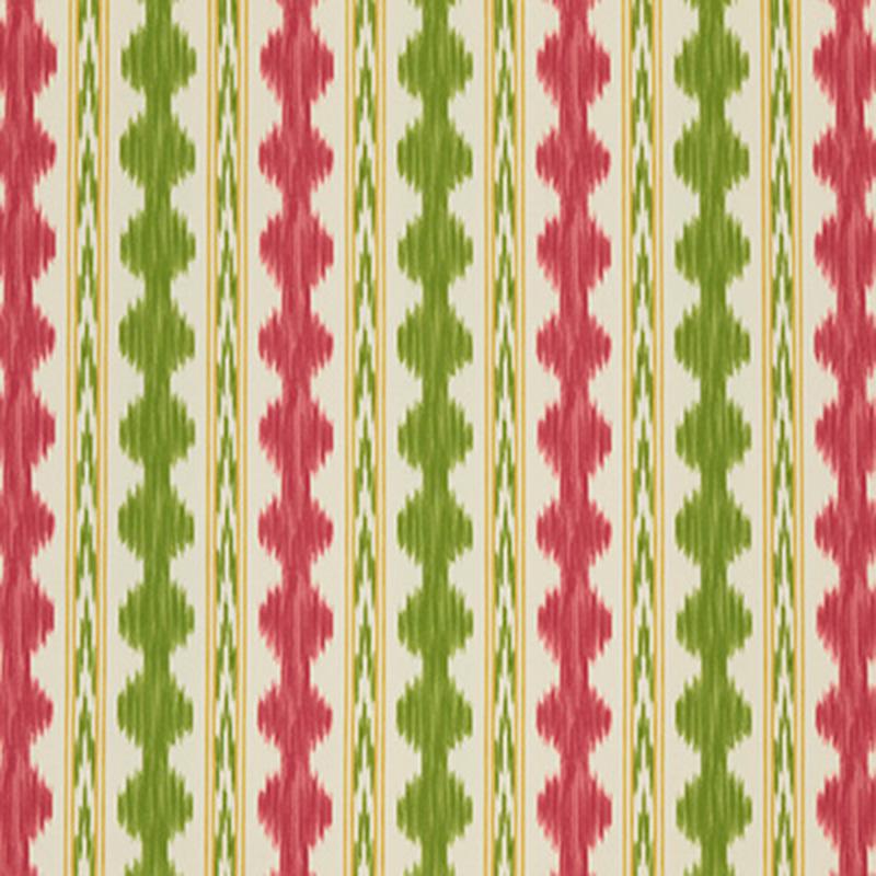Avera Print - red green