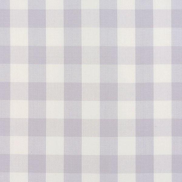 Camden Cotton Check - Lilac - Schumacher Fabric