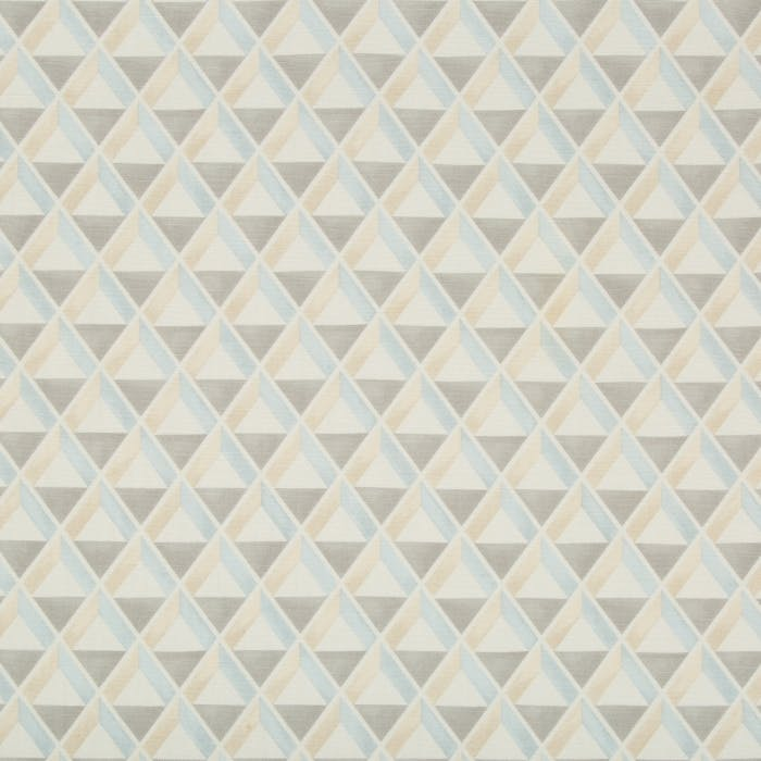 Cannes Print - blue beige