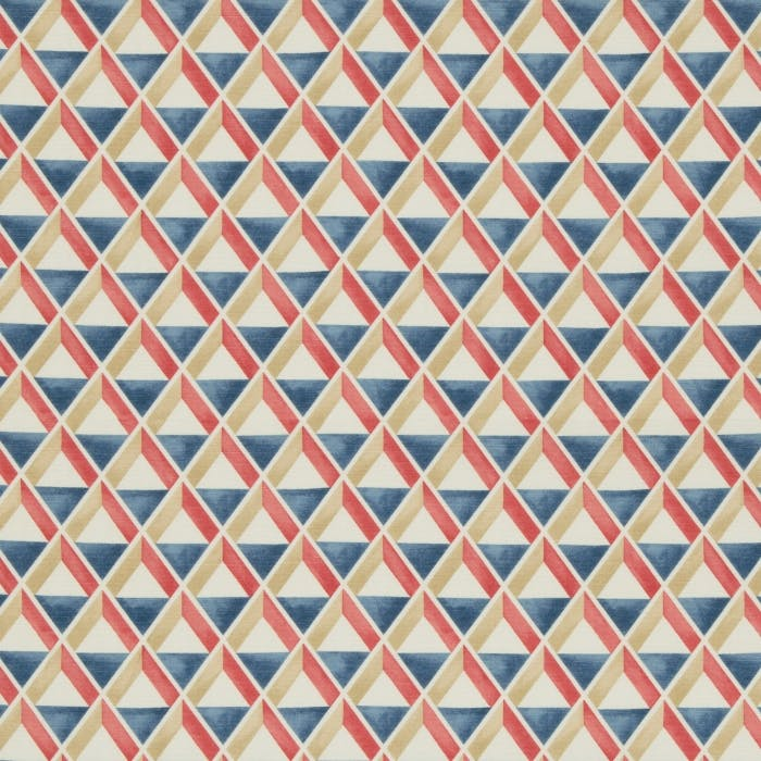 Cannes Print - red blue