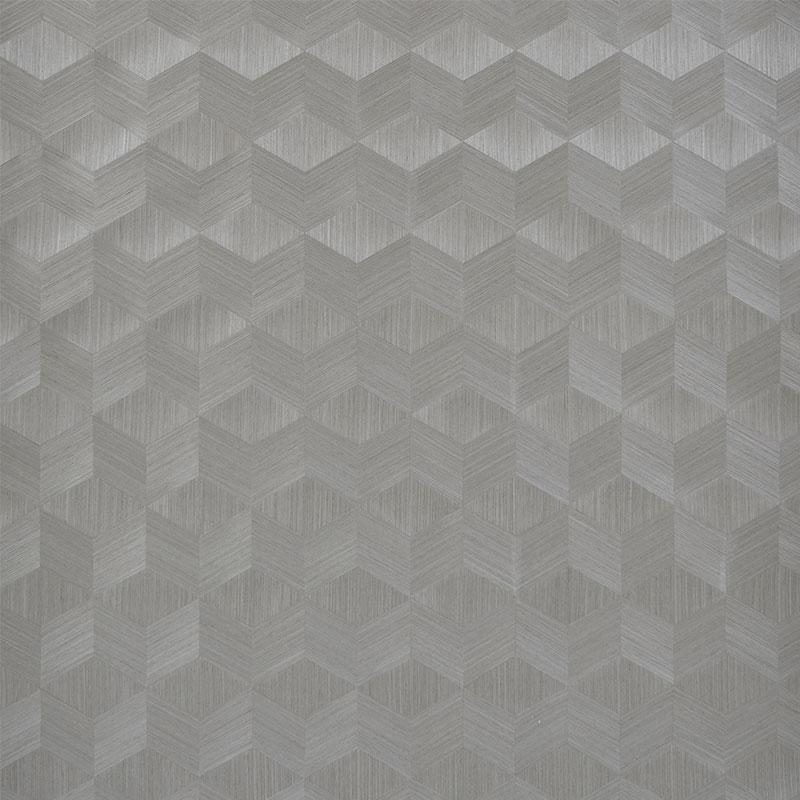 schumacher wallpaper chevron inlay birch
