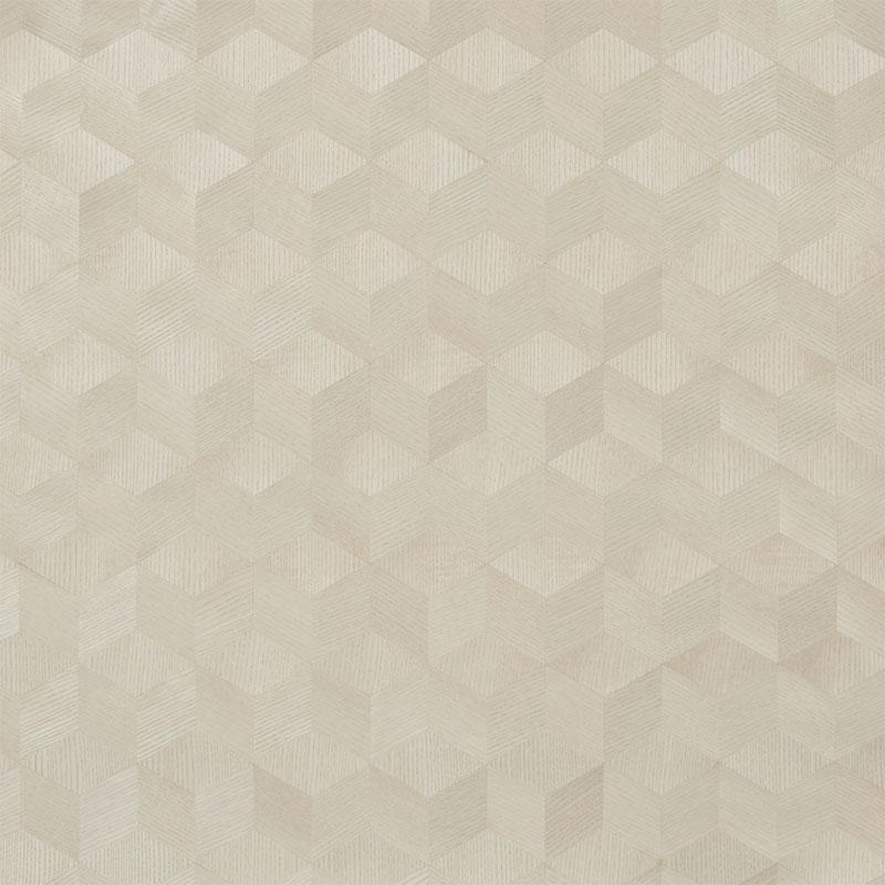 schumacher wallpaper chevron inlay blond