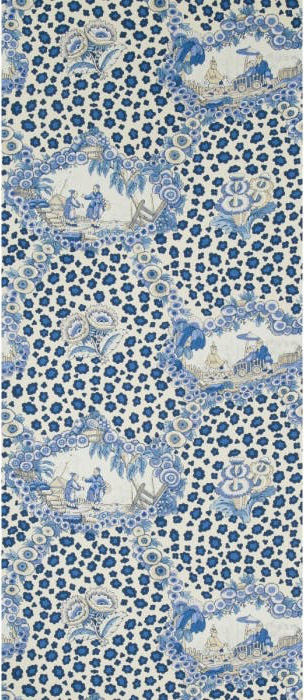 Chinese Leopard Toile - porcelain