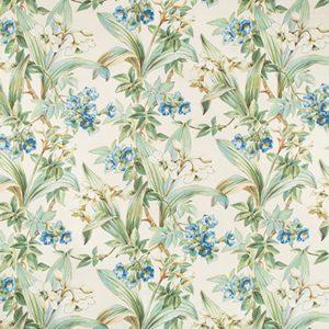 Daffodil and Vine - blue