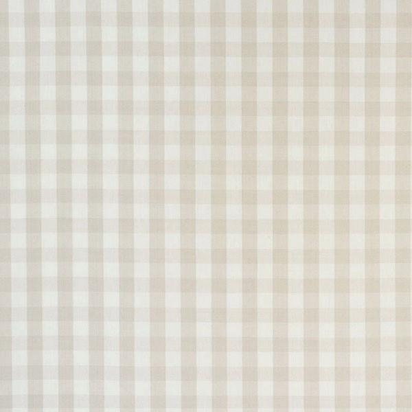 Elton Cotton Check - Natural - Schumacher fabric