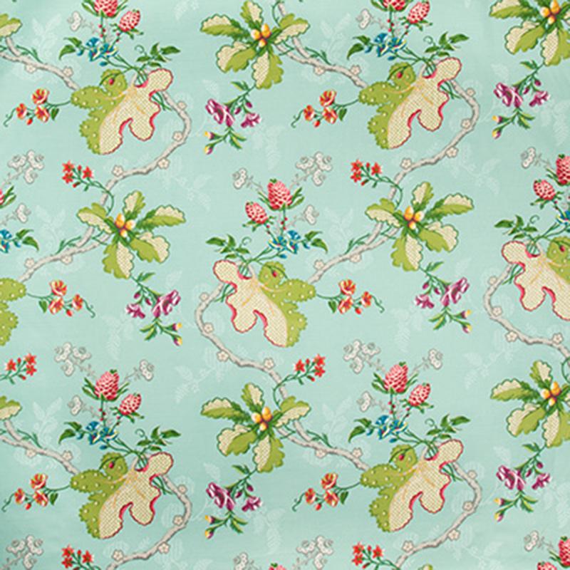 Fabriano Cotton and Linen Print - aqua