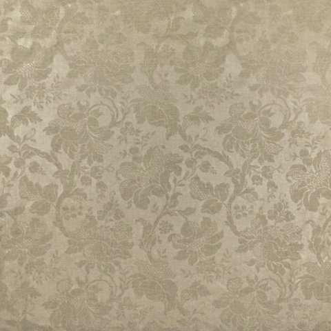 Frances Embossed Damask - flax