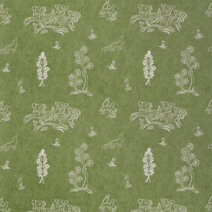 Friendly Folk - basil green