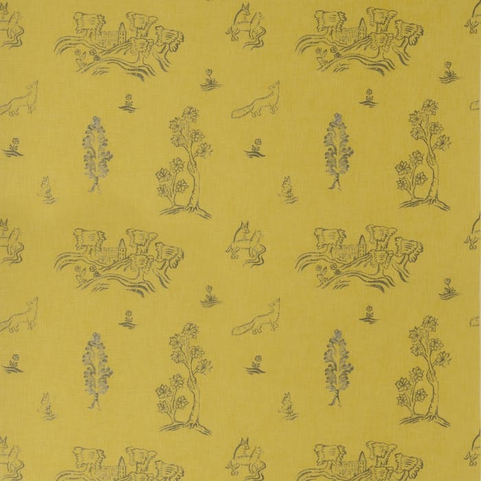 Friendly Folk - provencal yellow