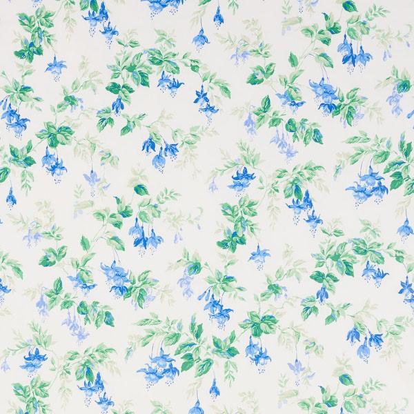 Garden gate Chintz - cobalt - Schumacher fabric