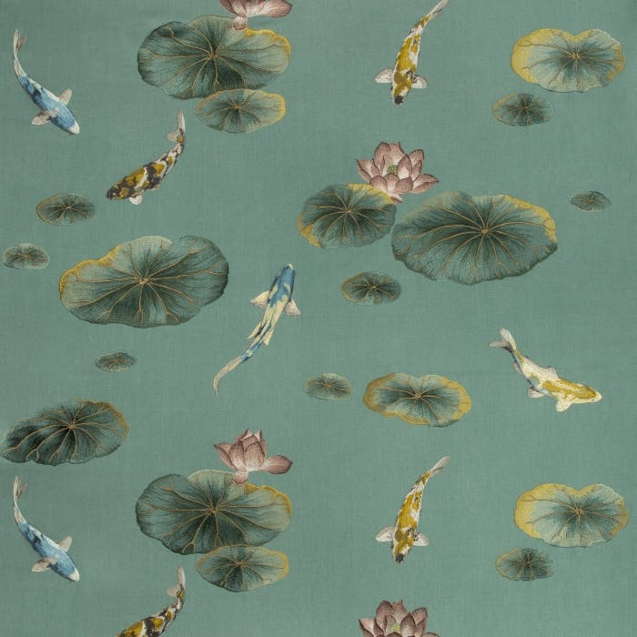 Lotus Pond - sage