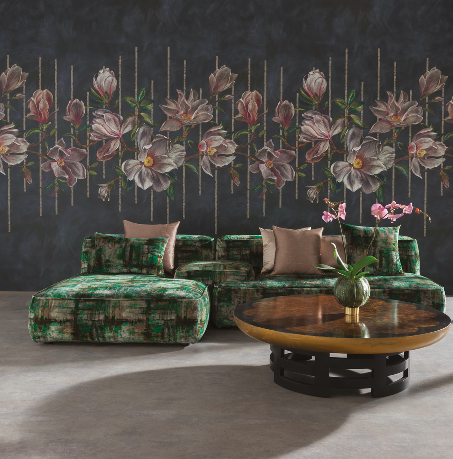 Magnolia Frieze - Osborne & Little Wallpaper