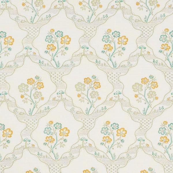 Marella leaf Schumacher fabric
