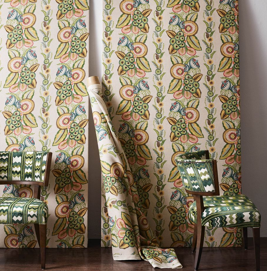 Nina Campbell Fabric - Ashdown Stripe