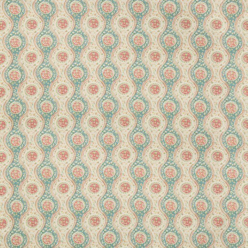 Nadari Print - Teal Rose