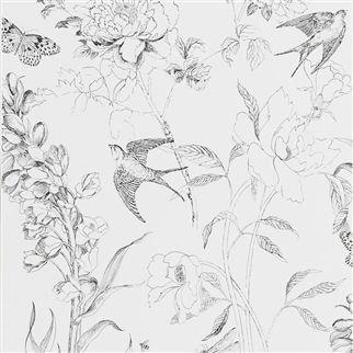 Sibylla Garden - black and white