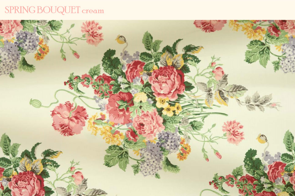 spring bouquet clarence house fabric