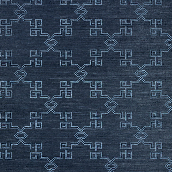 Suzhou Lattice Sisal - midnight