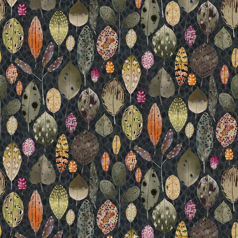 tulsi aubergine designers guild fabric