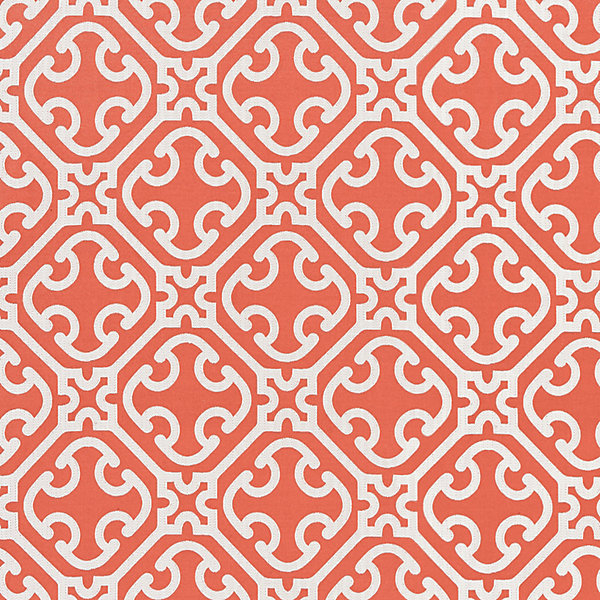 Ailin Lattice Weave - Coral