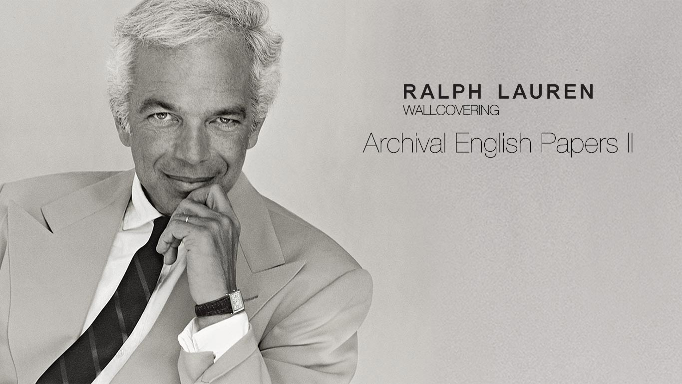 Ralph Lauren Wallpaper Archival English Papers Ii L A Design