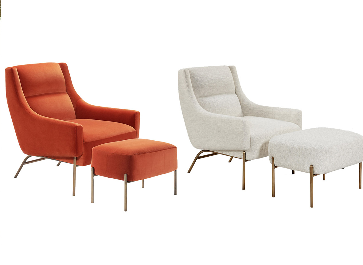 Atelier Purcell Vista Lounge Chair