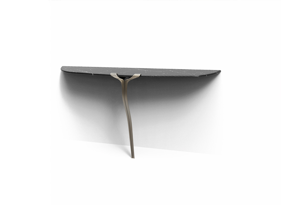 Atelier Purcell Single Leg Console
