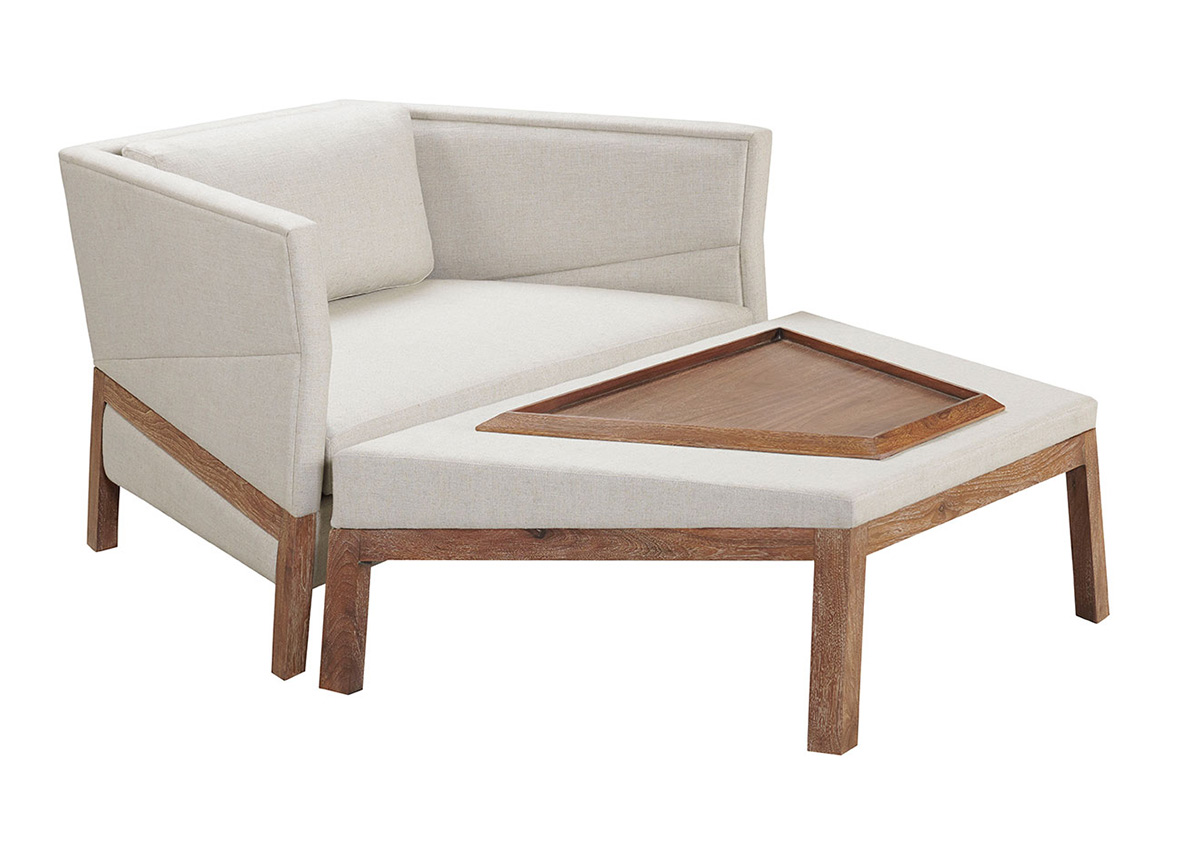 Shop Atelier Purcell Bias Lounge Chair