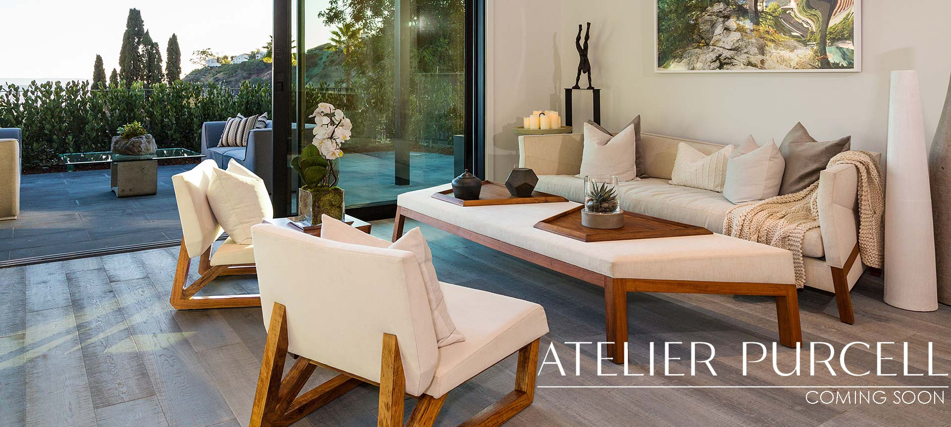 Atelier Purcell Luxury furniture collection coming soon