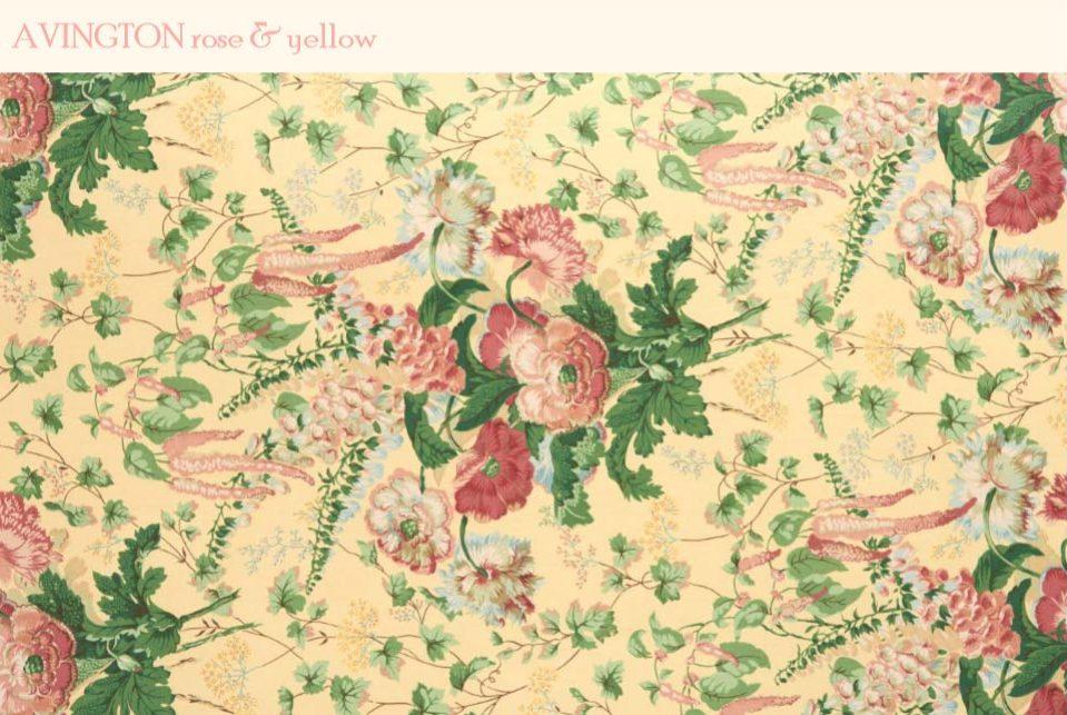 avington clarence house fabric