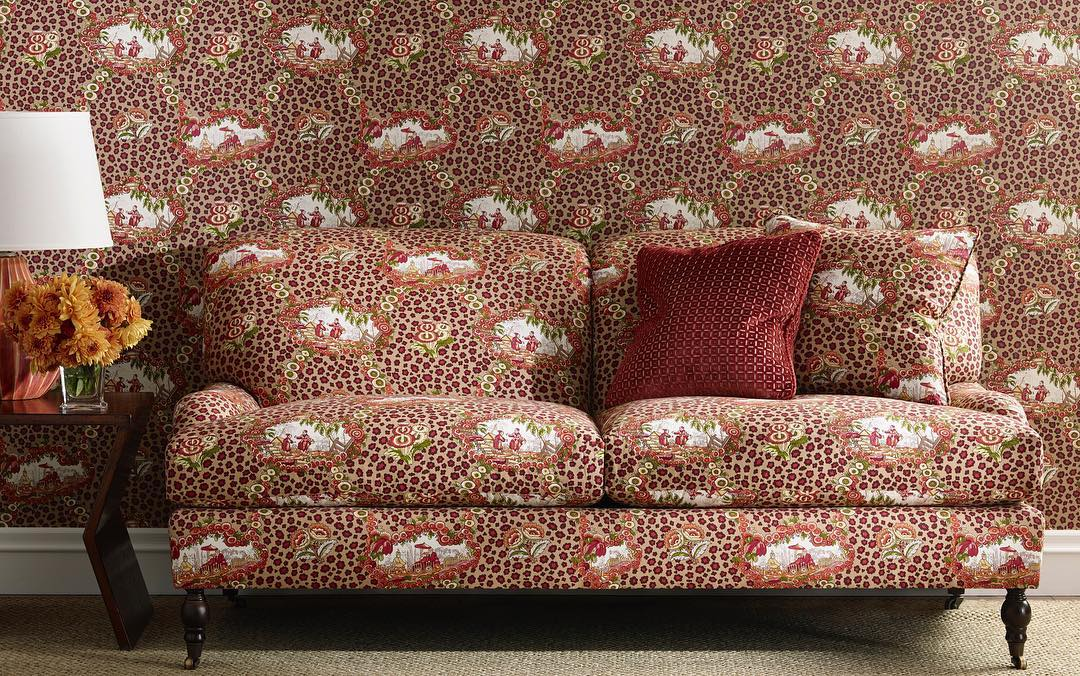 Chinese Leopard Toile - Brunschwig and Fils Fabric