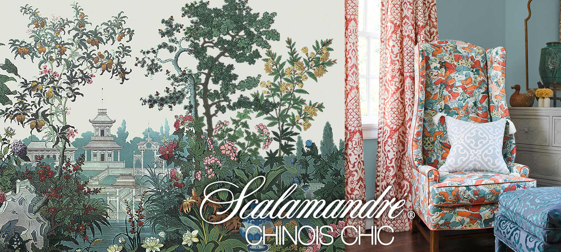 scalamandre fabric chinois chic collection