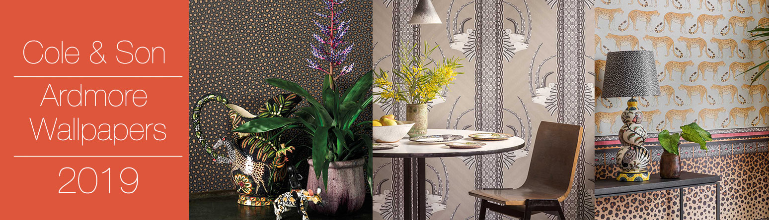 cole and son ardmore collection wallpaper