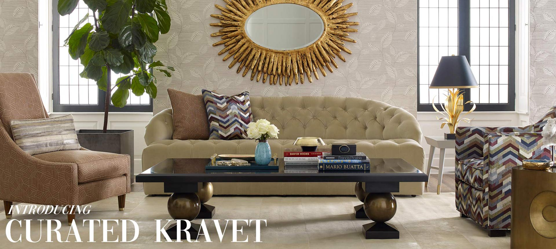 curated kravet accessories in stock