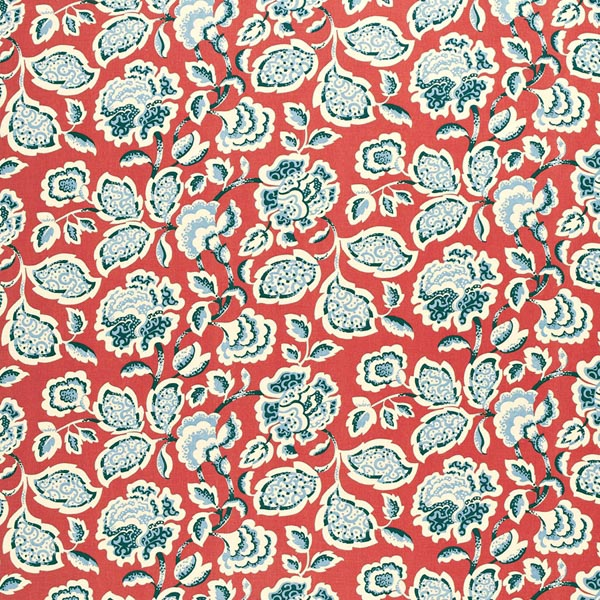 deco flower berry schumacher fabric