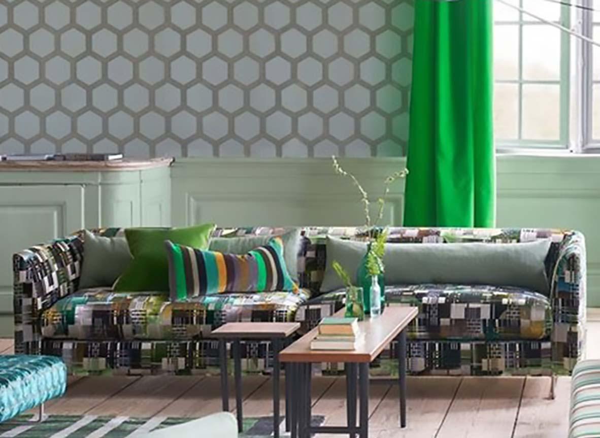 Lee Jofa Cotton Rayon Linen Vicenza Stripe Damask Eggshell  Upholstery Drapery Fabric