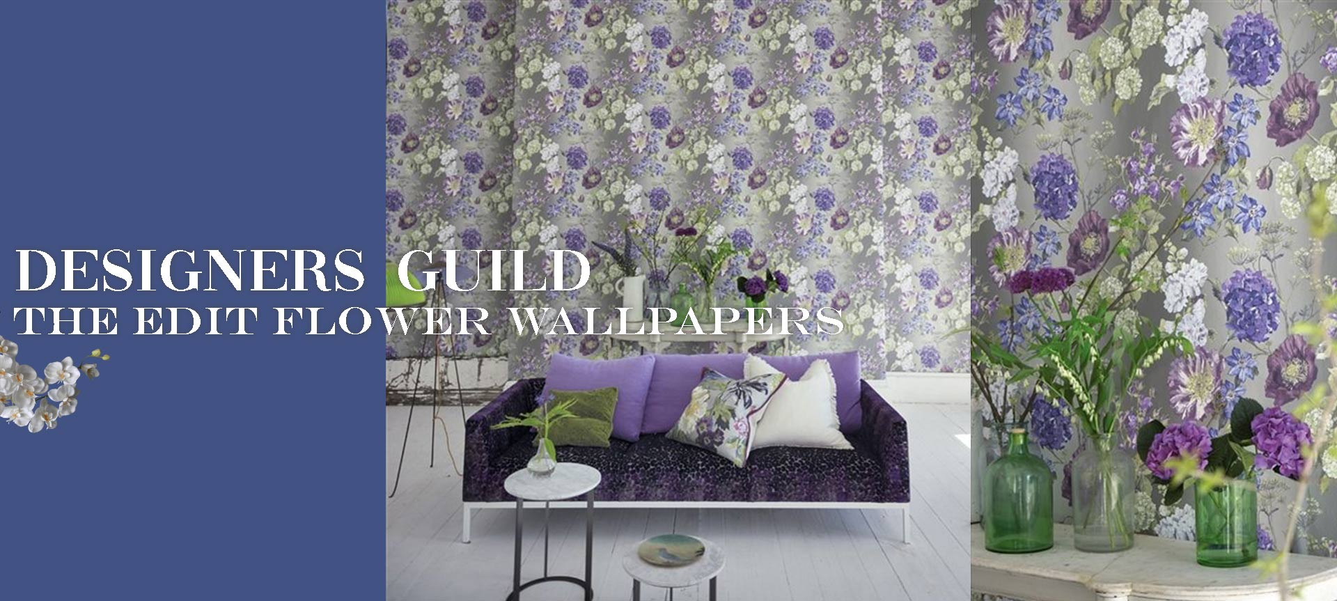 Designers Guild Wallpaper Flower Wallpapers