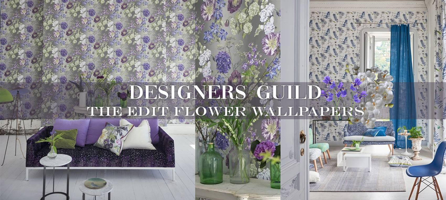 Designers Guild Wallpaper The Edit Flower Wallpapers