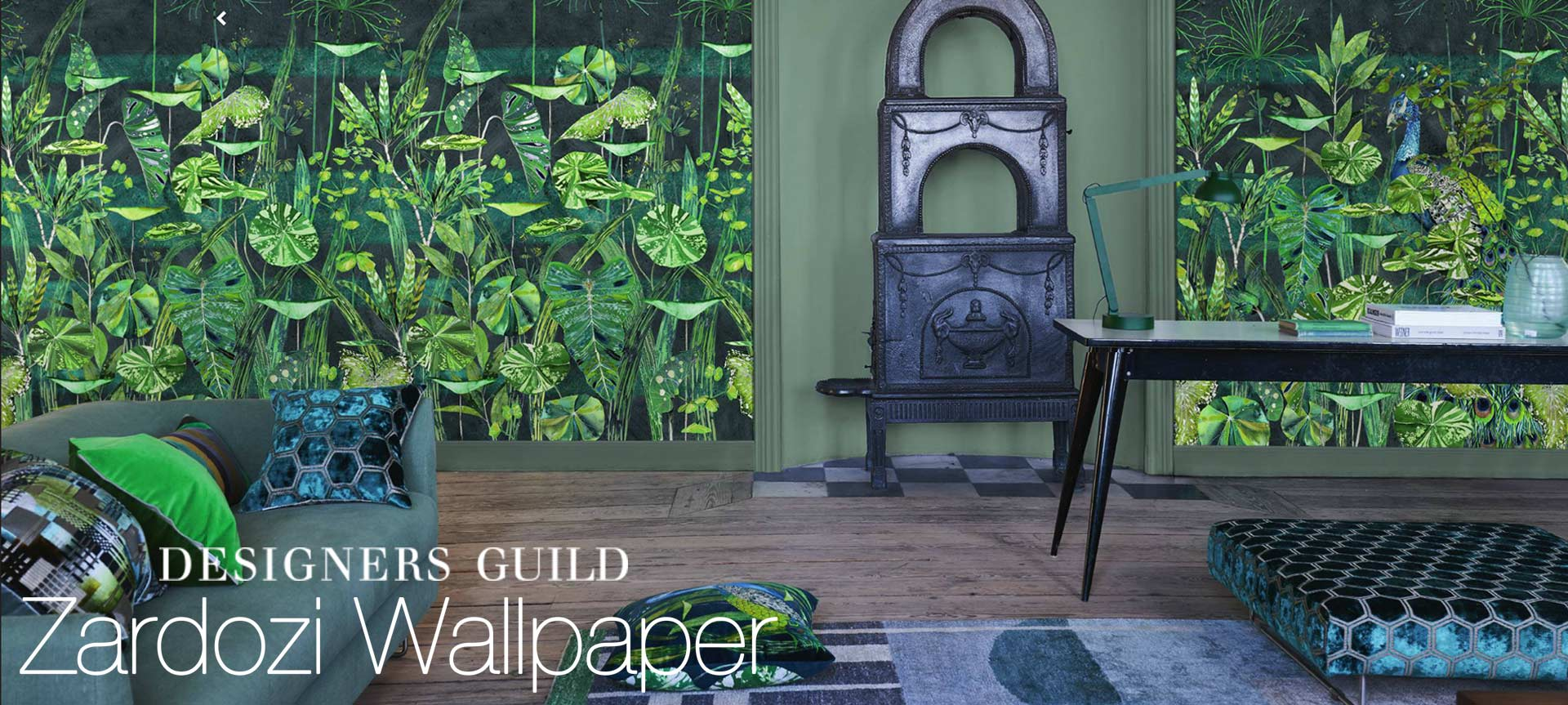 designers guild zardozi wallpaper collection