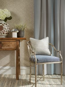Grey Watkins fabric flora fabrics