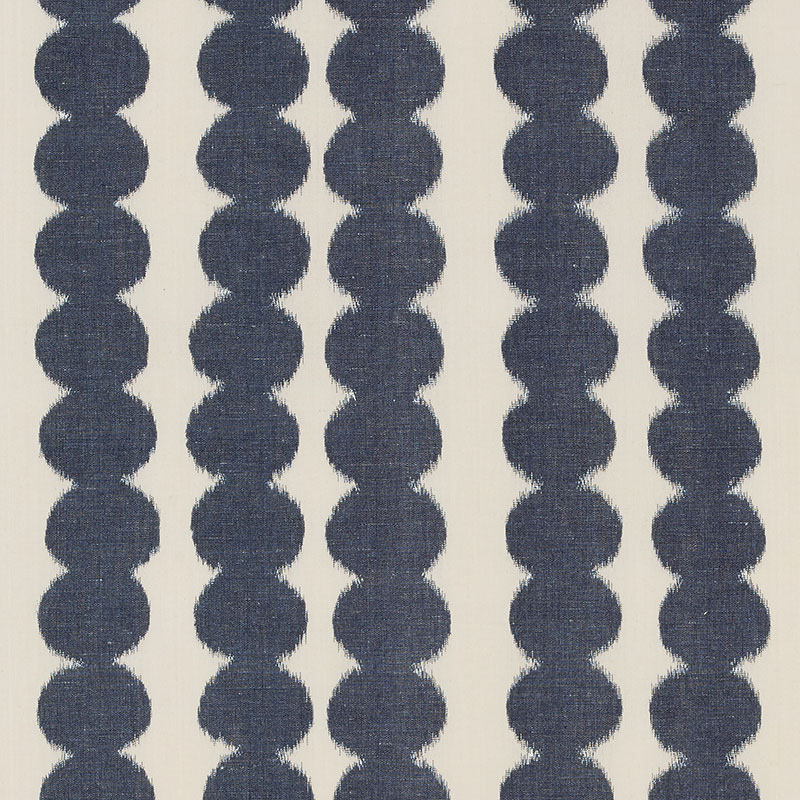 full circle navy schumacher fabric