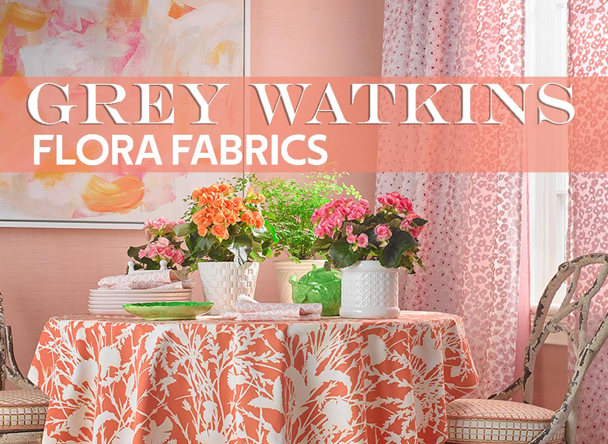 Shop Grey Watkins Fabric Flora Collection
