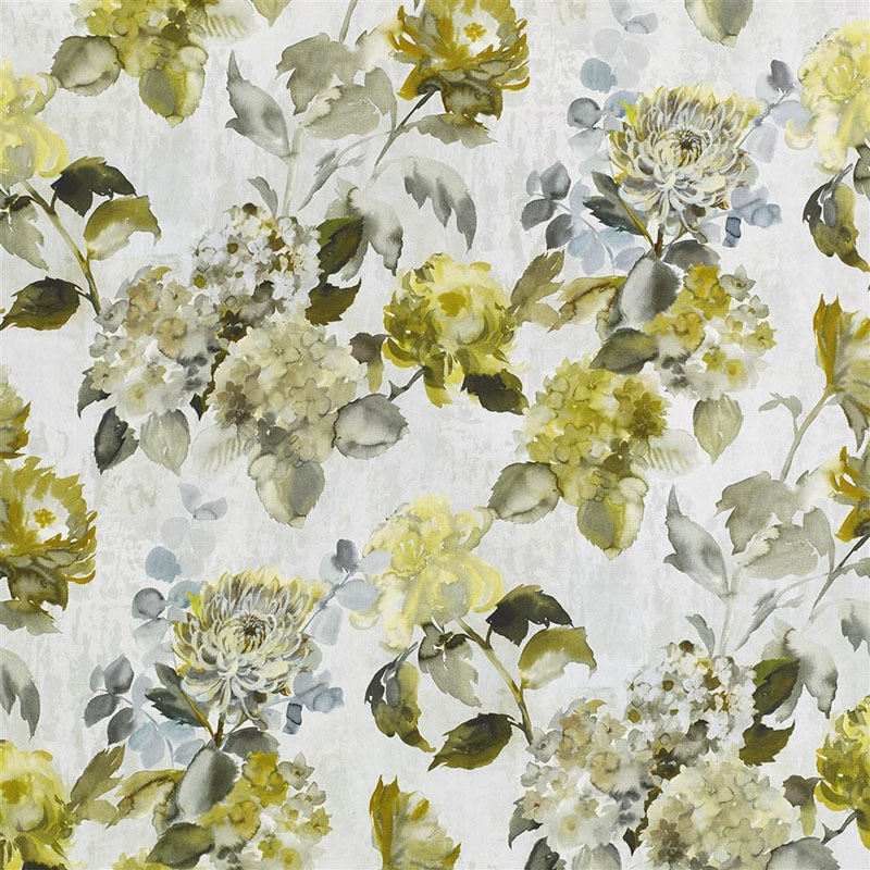 Kiku birch designers guild fabric