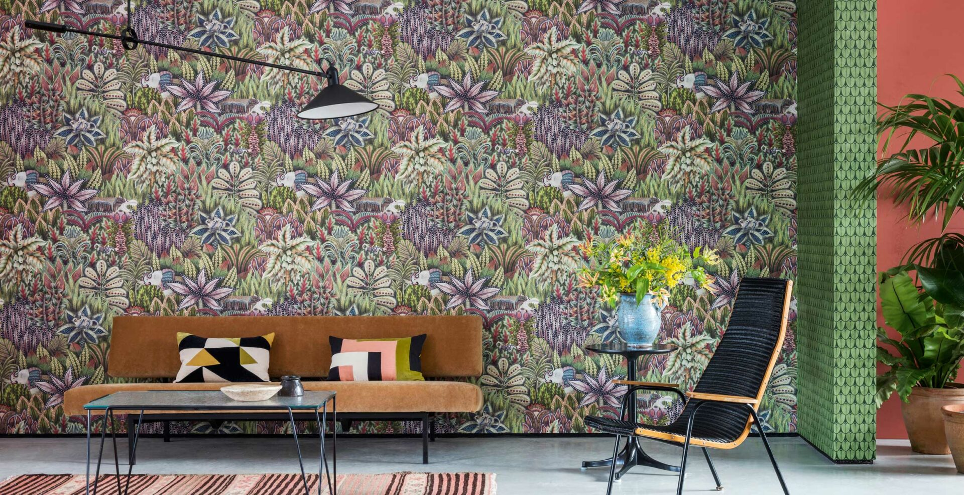 admore collection cole and son wallpaper