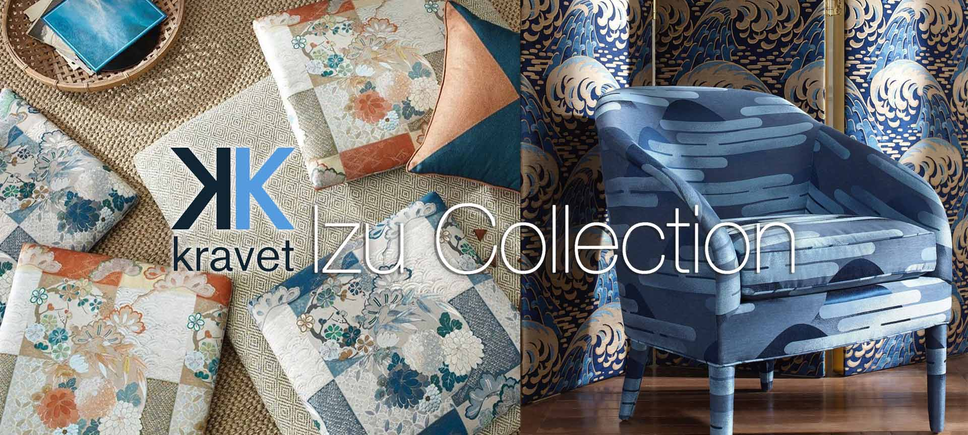 Kravet Couture Fabric Izu Collection Now Available