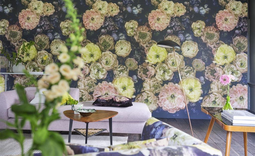 La Poeme De Fleurs in 'Midnight' from Designers Guild