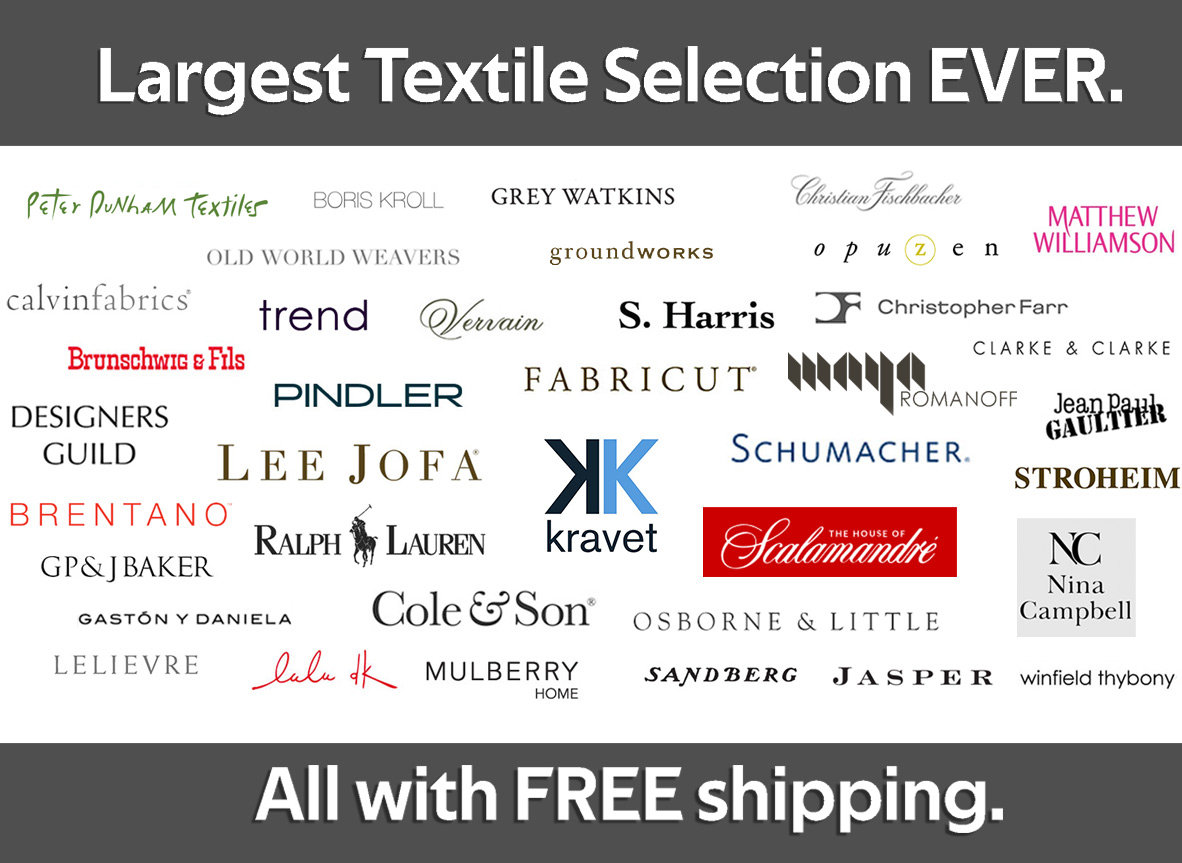 Largest Online Fabric Selection Ever