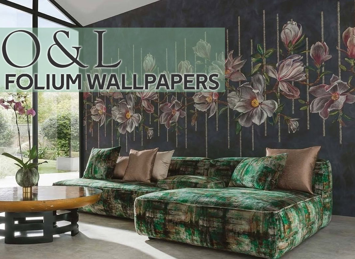Shop Osborne And Little Wallpaper Folium Wallpapers